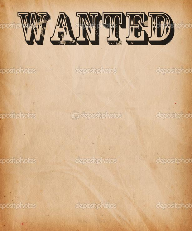 Most Wanted Template Free